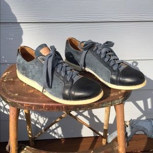The Office Of Angela Scott Shoes - Angela Scott Suede Oxford Shoes - 8